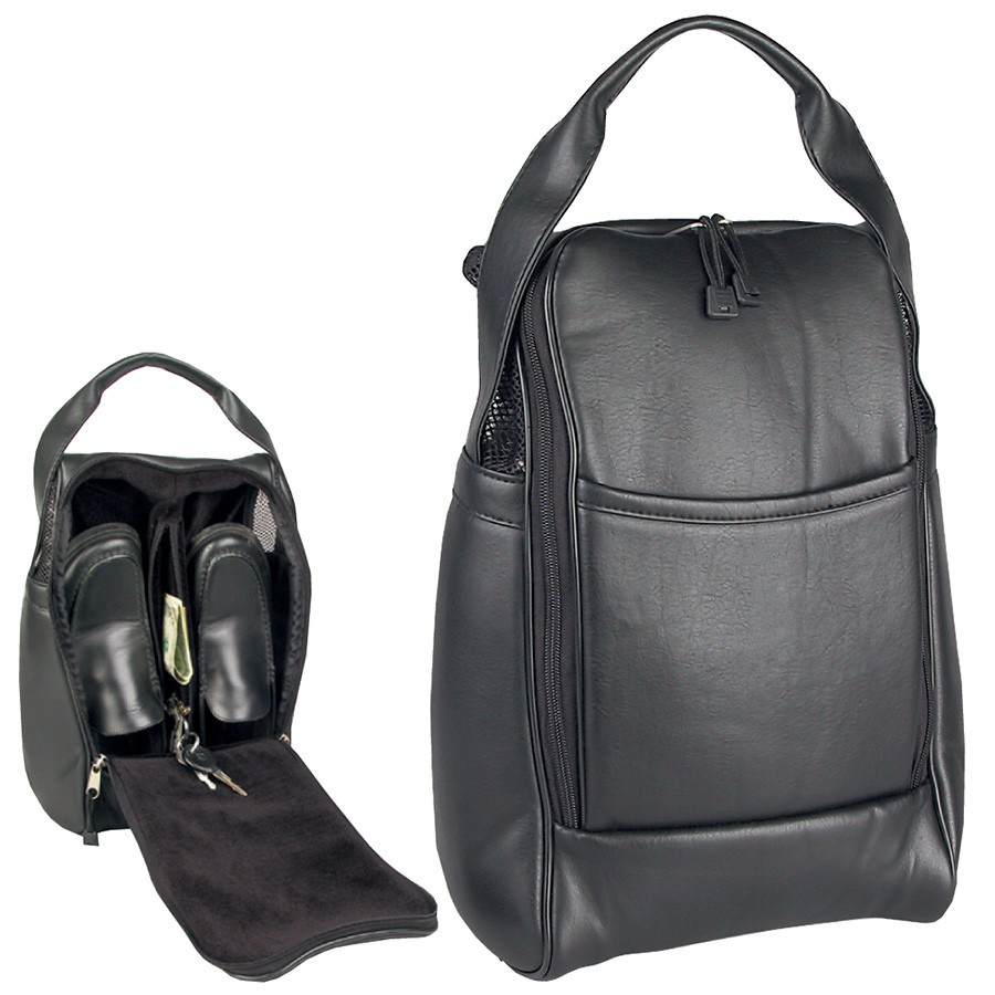 AJ661 - Deluxe Golf Shoe Bag
