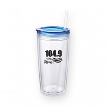 AG768 - 20 Oz. Double Walled Acrylic Tumbler