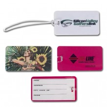 AG772 - Luggage Tag with Transparent Strap