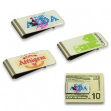 AG775 - Domed Metal Money Clip