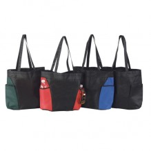 AJ226 - Non-Woven Tote with Large Pockets