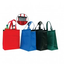 AJ237 - Insulated Grocery Tote with Velcro Closure