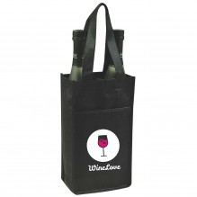 AJ252 - Double Wine Bottle Holder