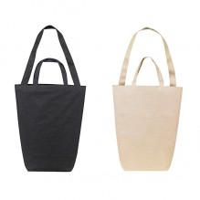 AJ263 - Dual Handle Cotton Shopping Tote Bag