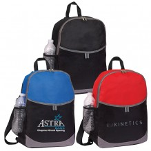 AJ288 - Backpack with Open Front Pocket