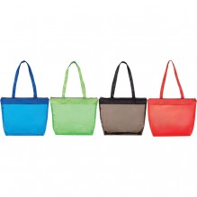 AJ289 - Colored Transparent Tote