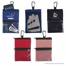AJ324 - Golf Accessory Pouch with Carabiner