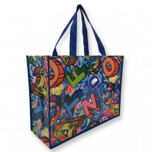 AJ357 - Full Wrap Custom Art Laminated Bag