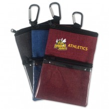 AJ362 - Crosshatched Sports Accessory Pouch