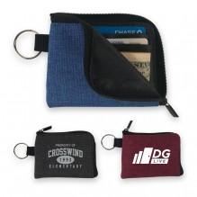 AJ364 - Crosshatched Minimalist Wallet