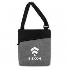 AJ366 - Crosshatched Padded Tablet Shoulder Bag