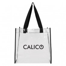 AJ369 - Lightweight Clear Open Tote