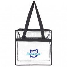AJ370 - Lightweight Stadium Zippered Tote