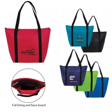 AJ380 - Zippered Cooler Tote