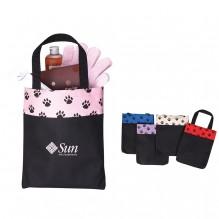 AJ635 - Small Paw Print Tote Bag
