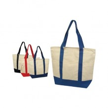 AJ646 - Deluxe Zippered Tote