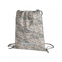 AJ693 - Camouflage Drawstring Backpack