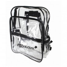 AJ706 - Clear Backpack