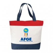 AJ731 - Patriotic Tote Bag