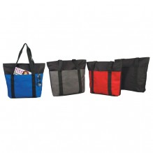 AJ732 - Spacious Zippered Tote Bag
