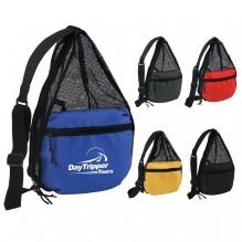 AJ749 - Mesh Backpack/Shoulder Bag