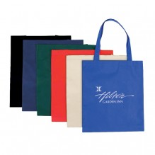AJ836 - Flat Non-Woven Tote Bag