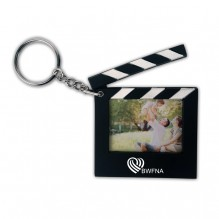 AP801 - Hollywood Clapboard Key Chain with Photo Holder