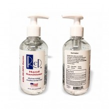 AP944 - 8 Fl Oz. Hand Sanitizer with Pump (Ready to Ship Locally Stocked)