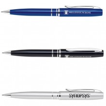 AS437 - Lacquered Twist Action Ballpoint Pen