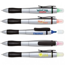 AS476 - Rubber Grip Highlighter Pen