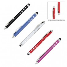 AS479 - Gravity Dot Grip Pen with Stylus