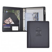 AS865 - Letter Size Padfolio w/3 Ring Binder