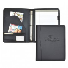 AS871 - Padfolio with 1/2 Inch 3 Ring Binder