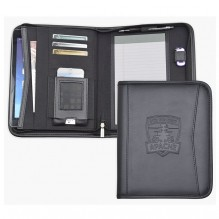 AS876 - Tablet Padfolio with Zippered Closure