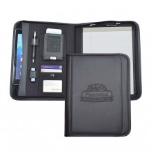 AS877 - Tablet Letter Sized Padfolio with Zippered Closure