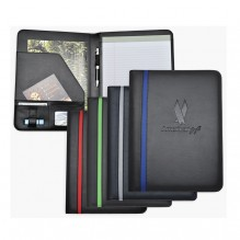 AS881 - Letter Sized Striped Padfolio